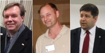 Brian Schoeneman, Greg Letiecq, Shaun Kenney