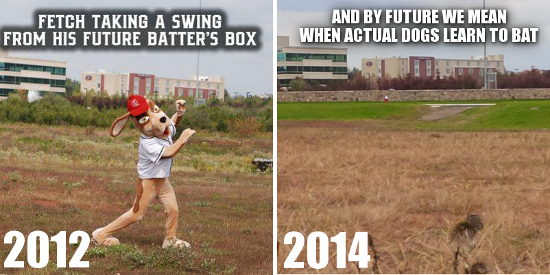 Loudoun Hounds ball park then and now