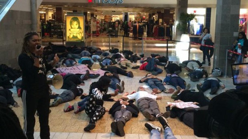 Wheaton Mall Die-In