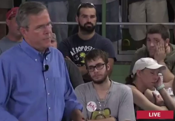 Jeb Bush Boring Supporters