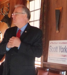 Scott York announces campaign