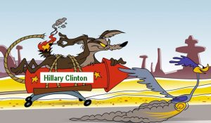 Hillary Clinton and the Roadrunner
